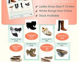 #69 untuk Brochure Design for Big On Shoes- Online Shoe Retailer oleh livreta