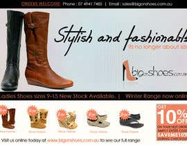 #57 untuk Brochure Design for Big On Shoes- Online Shoe Retailer oleh designerartist