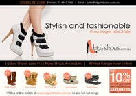 Graphic Design Contest Entry #56 for Brochure Design for Big On Shoes- Online Shoe Retailer