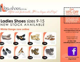 #61 cho Brochure Design for Big On Shoes- Online Shoe Retailer bởi zdenusik