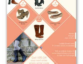 #115 cho Brochure Design for Big On Shoes- Online Shoe Retailer bởi imaginativeGFX