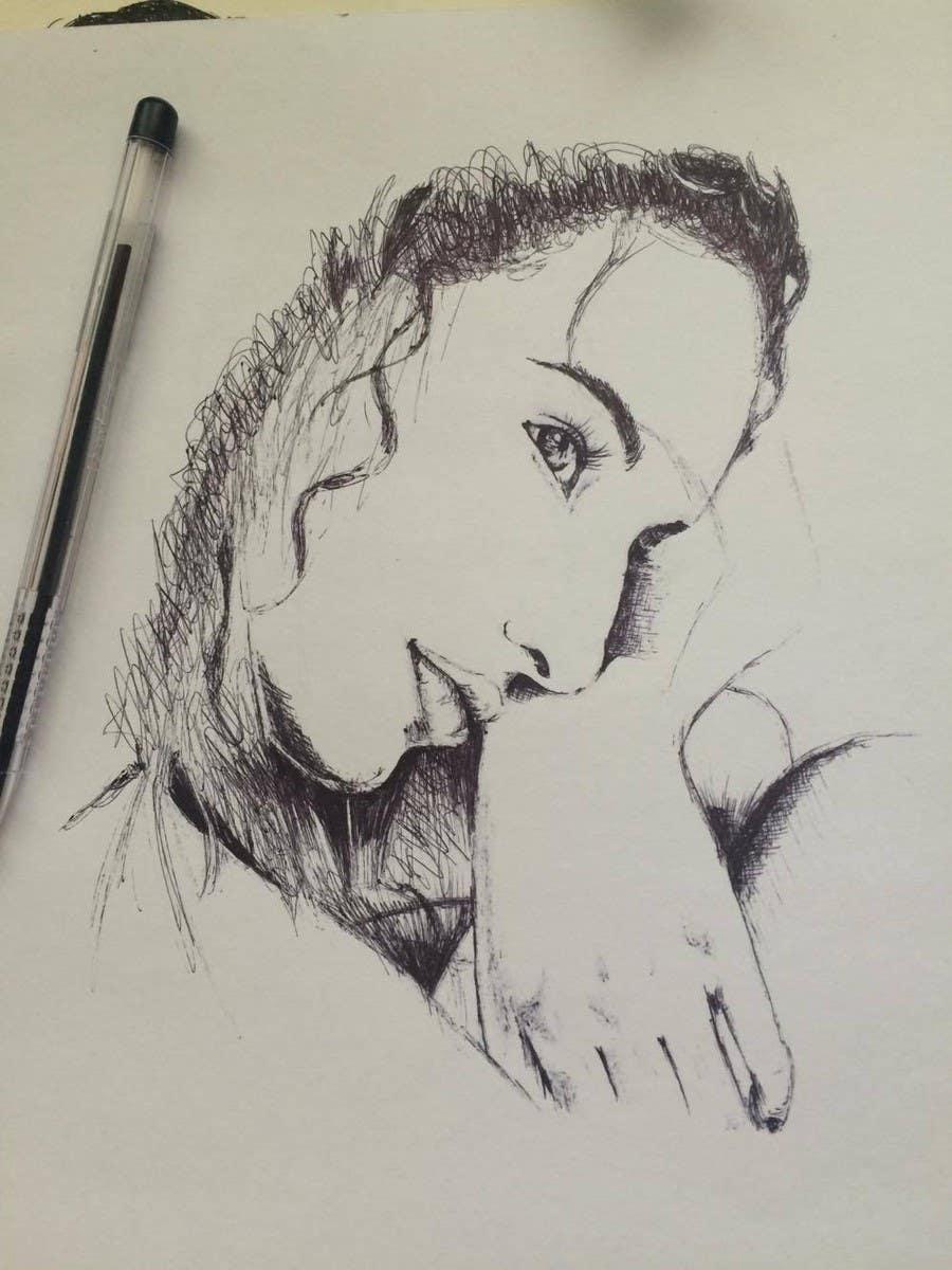 Entri kontes 198 untuk35 winners portrait sketch pen pencil
