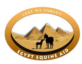 #60 untuk Design a Logo for Egypt Equine Aid oleh pjrrakesh