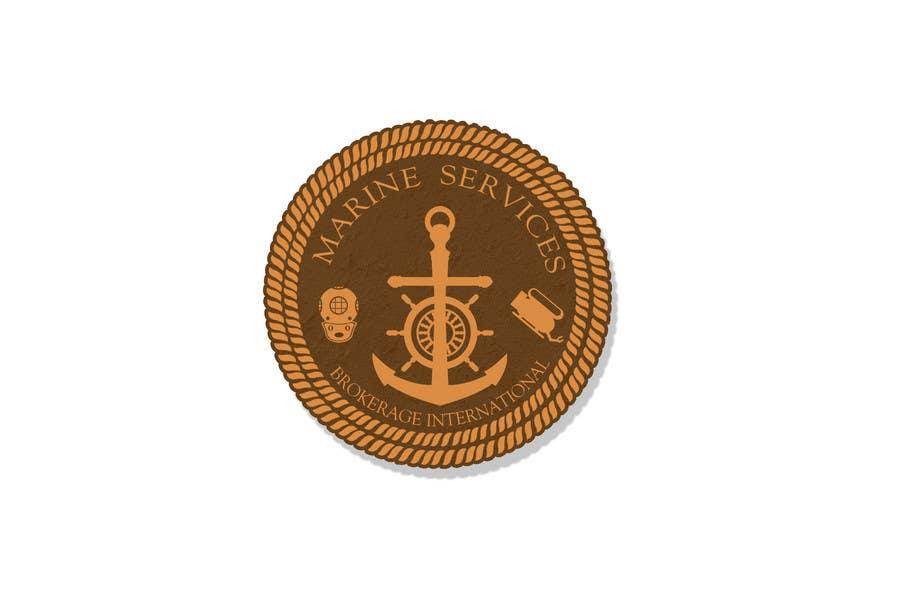 Inscrição nº                                         83                                      do Concurso para                                         Logo Design for Marine Services Brokerage International