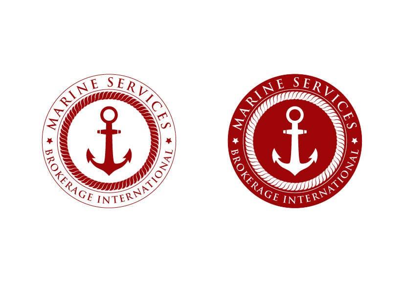 Inscrição nº                                         89                                      do Concurso para                                         Logo Design for Marine Services Brokerage International