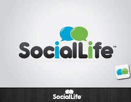 #188 pentru Check it Out! - Logo Design for SocialLife de către tiffont