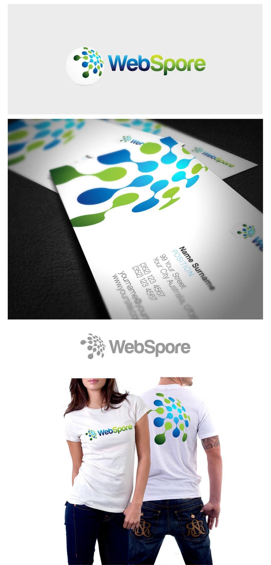 Конкурсная заявка №66 для Logo Design for WebSpore LLC