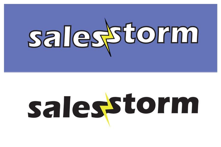 Contest Entry #                                        36                                      for                                         Logo Design for SalesStorm