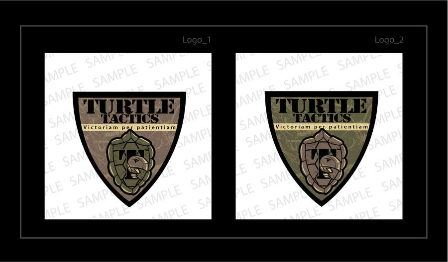 Penyertaan Peraduan #                                        5                                      untuk                                         Design a military patch