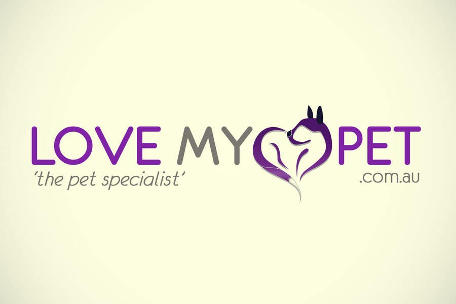 Contest Entry #44 for Logo Design for Love My Pet