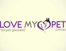 #44 per Logo Design for Love My Pet da johansjohnson