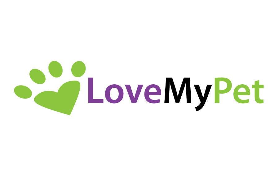 Συμμετοχή Διαγωνισμού #110 για Logo Design for Love My Pet