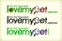 Graphic Design 参赛作品 #138 for Logo Design for Love My Pet