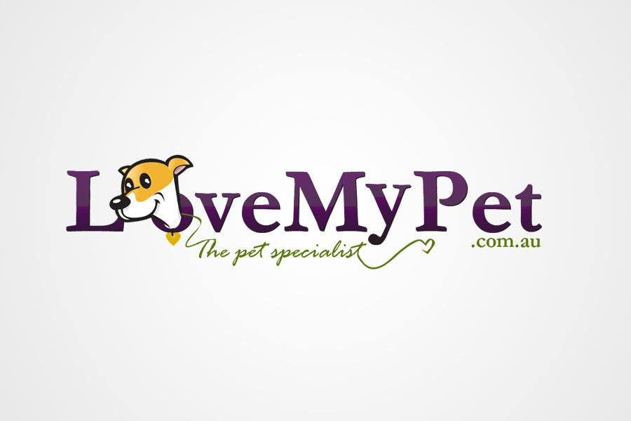 Participación en el concurso Nro.173 para Logo Design for Love My Pet