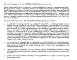 kvermbalian tarafından CV Re-format (NOT FULL REWITE) için no 1