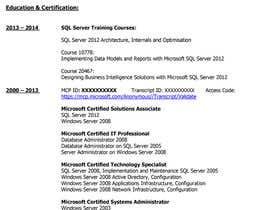 ivanazg tarafından CV Re-format (NOT FULL REWITE) için no 8