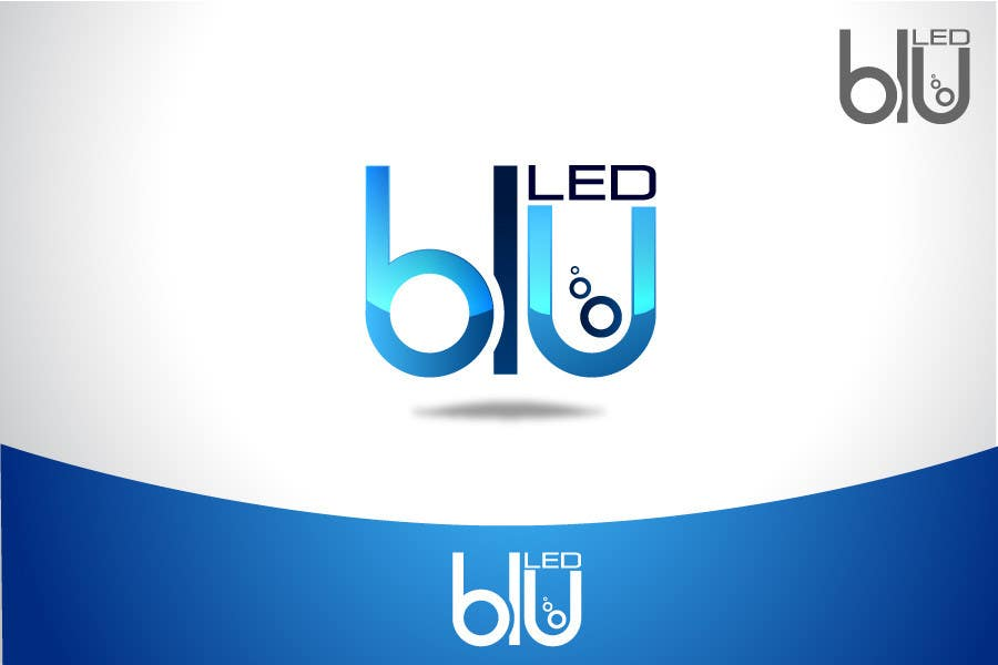 Конкурсная заявка №781 для Logo Design for Blu LED Company