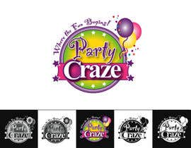 #77 untuk Logo Design for Party Craze.com.au oleh odingreen