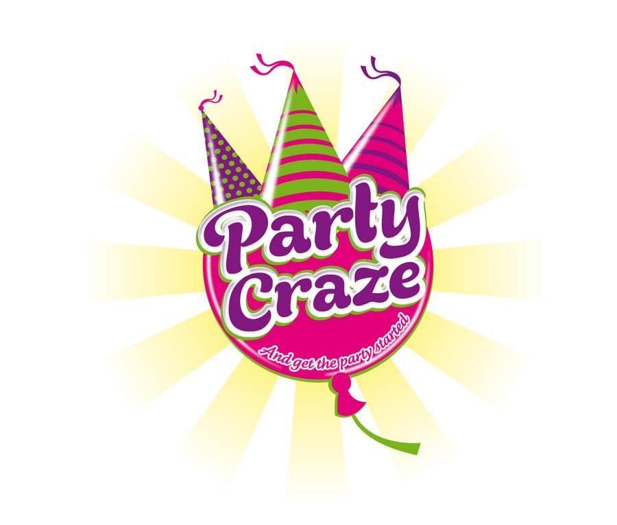 entry 128 by theideascrew for logo design for party craze com au
