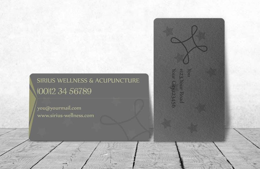 Penyertaan Peraduan #                                        9                                      untuk                                         Design Business Card and Logo for a Alternative Medical Clinic