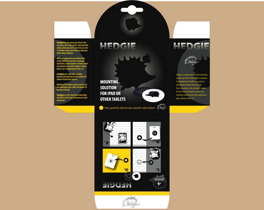 Konkurrenceindlæg #17 for Graphic Design for Hedgie packaging (Hedgie.net)
