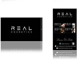 #129 para Business Card Design for Real Cosmetics por SRDesigns1
