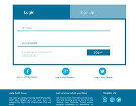 #2 for Create mockups: Improve the look of our web application af adrieng