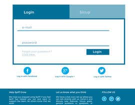 #10 for Create mockups: Improve the look of our web application af adrieng