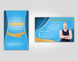 #38 for Business Card Design for Johnny Harper's 12 Week Body & Mind Transformation by Turismoo