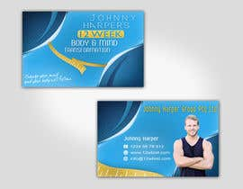 #32 for Business Card Design for Johnny Harper's 12 Week Body & Mind Transformation af Turismoo