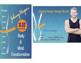 #40 untuk Business Card Design for Johnny Harper's 12 Week Body & Mind Transformation oleh SaumyaKumari