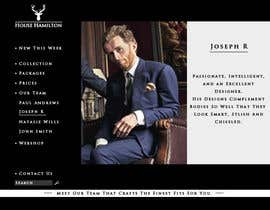 succinct tarafından Design a Website Mockup for a stylish bespoke fashion brand için no 74