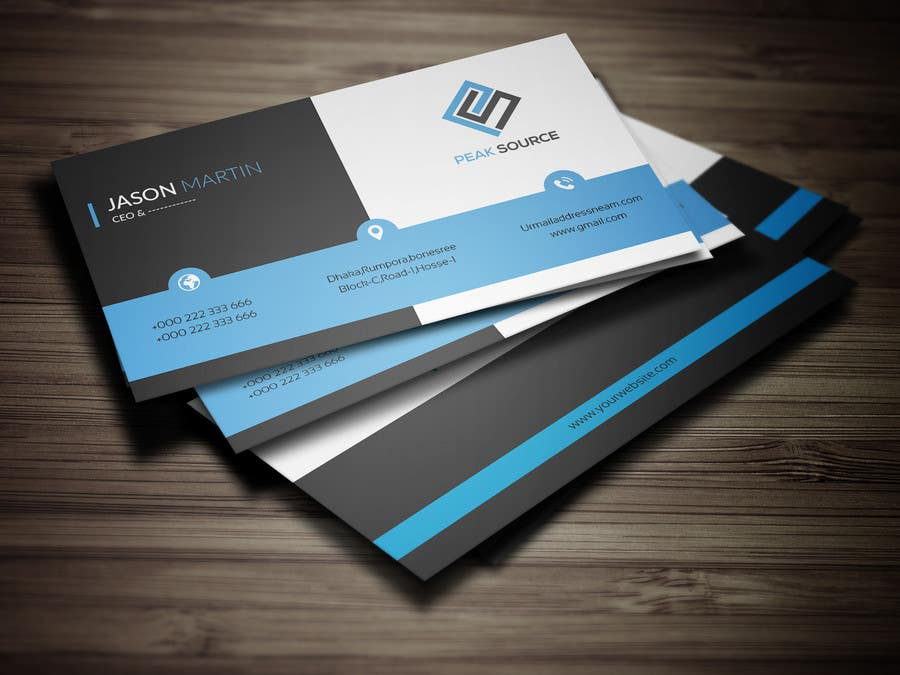 Entry #117 by MFKDesign for Business Card Design (Clear Cards or ...