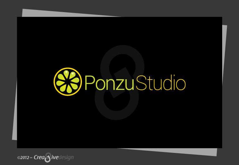Конкурсная заявка №213 для Logo Design for Ponzu Studio