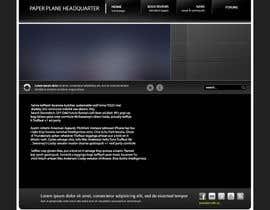 #2 for Design a Wordpress-Template for a paperplane website af ergelh