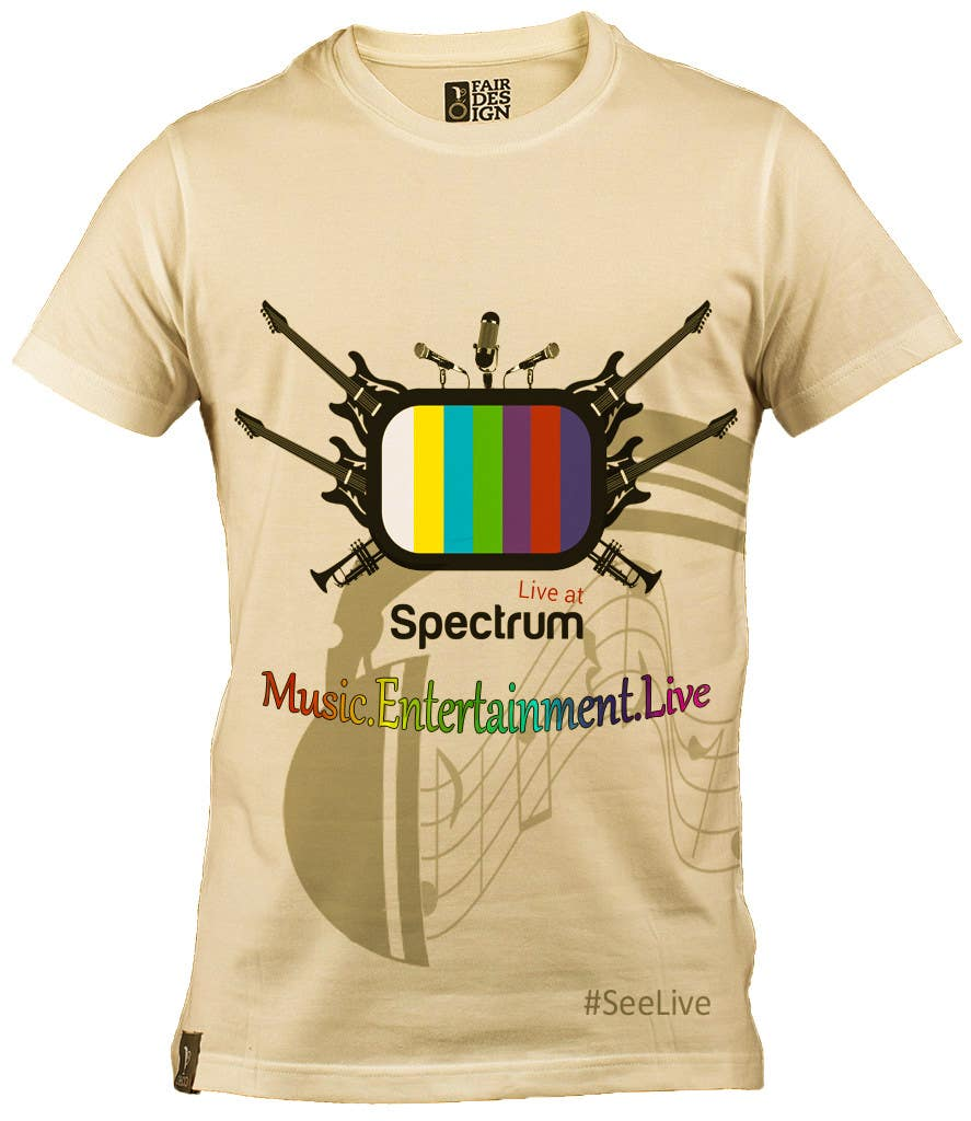 4973f2d5 Entry #25 by anuranpandit95 for Design a T-Shirt for our Music TV ...