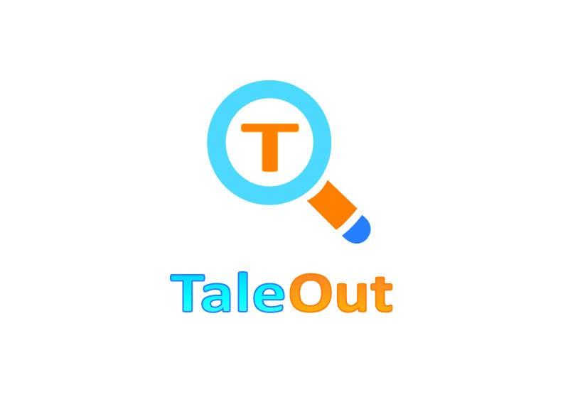 "Kilpailutyö #145 kilpailussa Logo Design for ""TaleOut"""