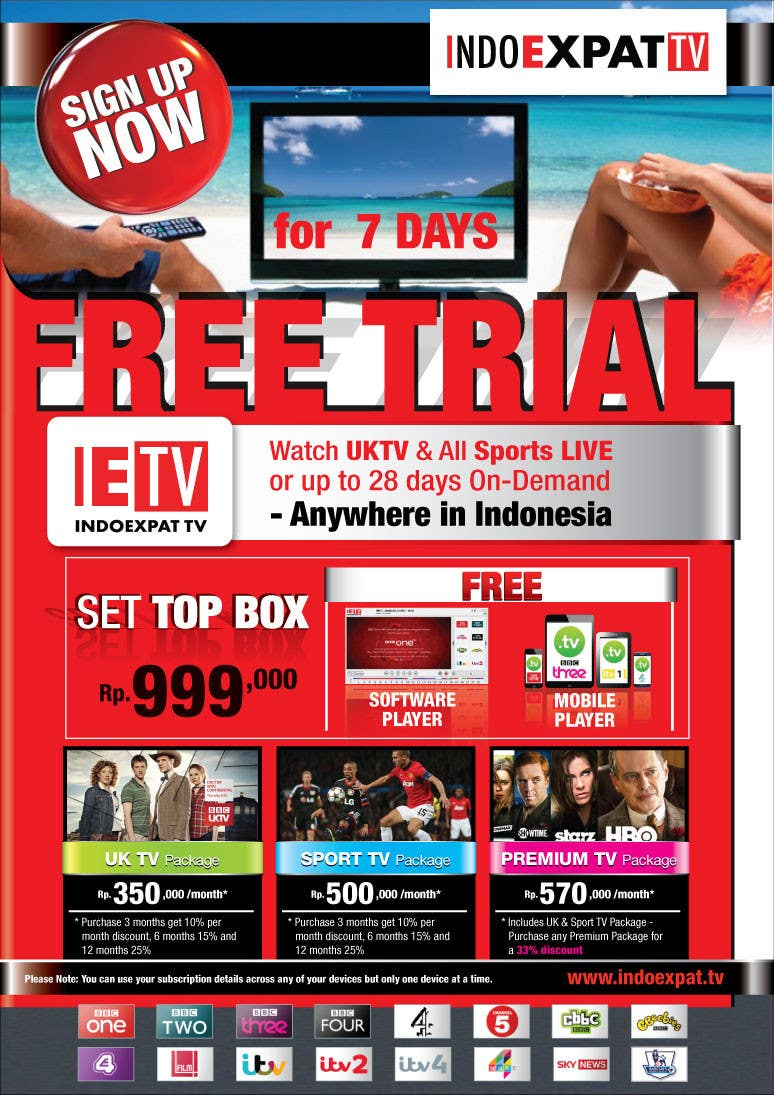 #25 for Design a Flyer for IPTV Company by cindy6db