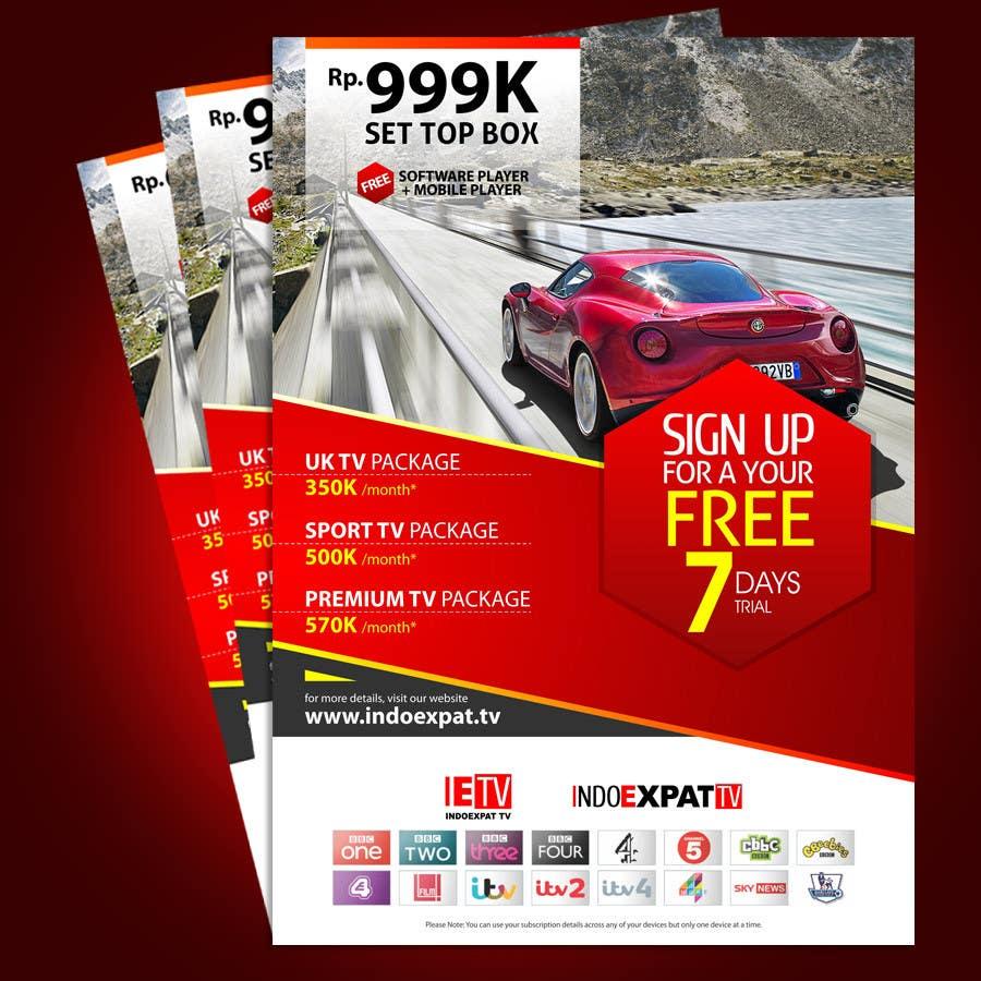 #13 for Design a Flyer for IPTV Company by ryanok21