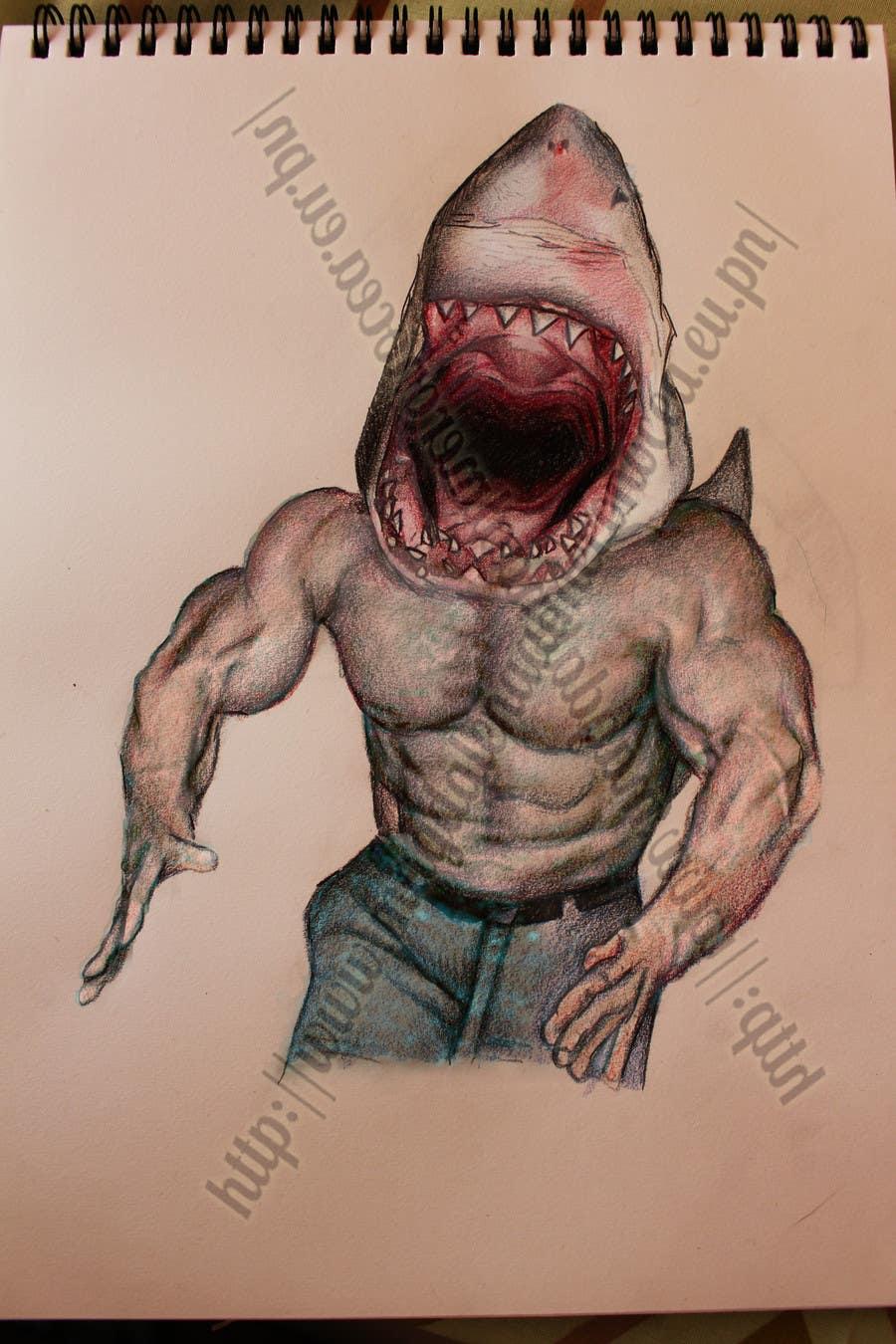 1000+ images about Sharpie91 on Pinterest | Sharpie91 ... |Half Human Half Shark