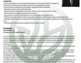 #17 para Graphic Design for Curriculum Vitae por bjandres