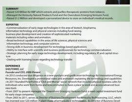 #18 para Graphic Design for Curriculum Vitae por bjandres