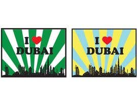 #32 for I Heart Dubai for sound activated LED shirt by jiamun