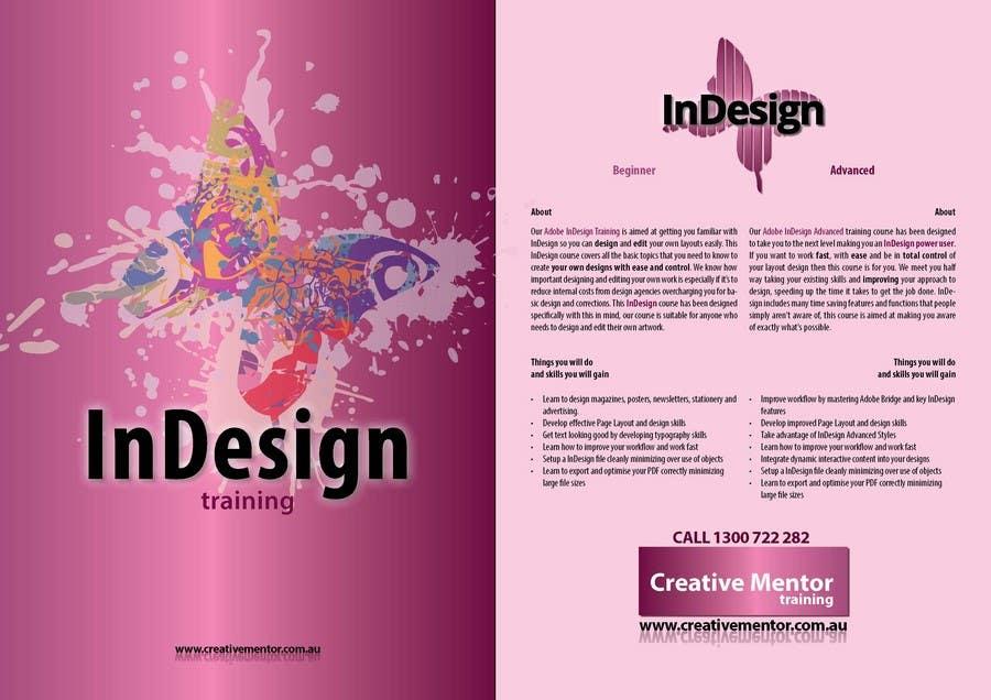 Конкурсная заявка №6 для Brochure Design for Creative Mentor Training