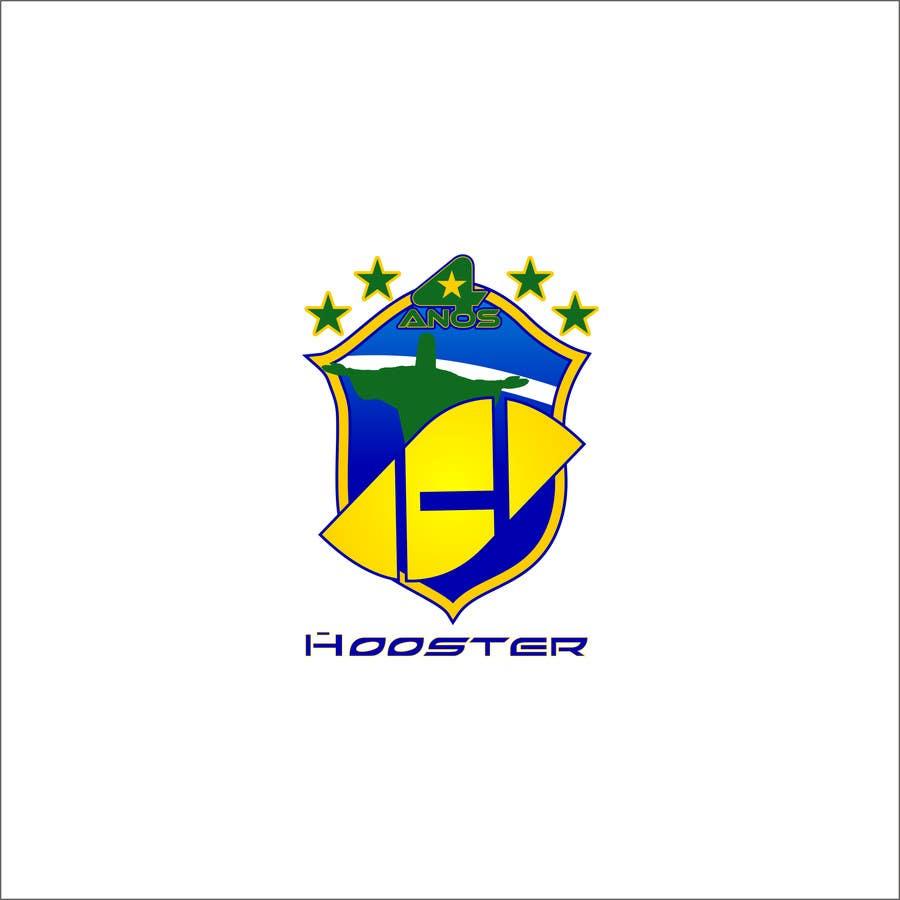 Inscrição nº                                         22                                      do Concurso para                                         Commemorative Logo + Key Visual Hooster