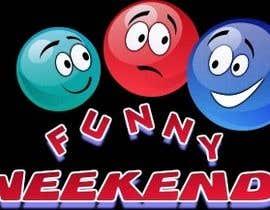 drewcraker2014 tarafından Design Logo for Funny Weekend için no 15