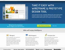 #12 para Website Design for WebSpore por tuanrobo
