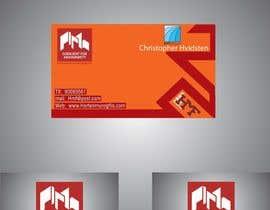 #29 untuk Design noen visittkort for Horten Mur og Flis AS oleh SaimRasheed