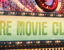 #3 for Movie Marquee Large Header by MckinneyArts