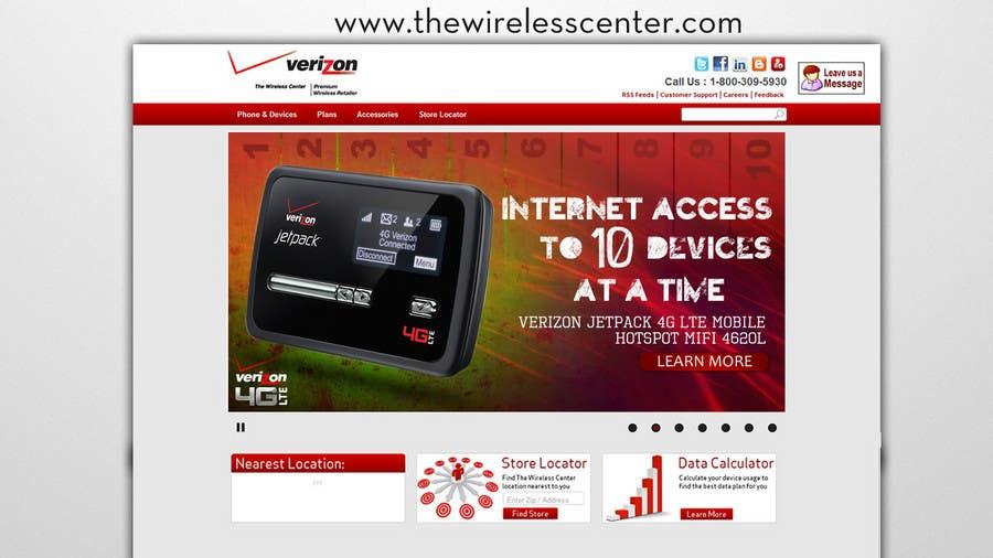 Contest Entry #2 for Advertisement Design for Verizon Wireless Premium Retailer- The Wireless Center